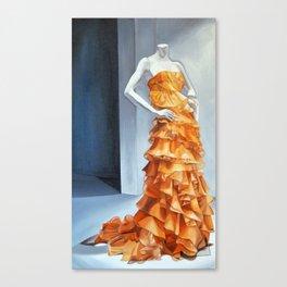 Untitled Orange Canvas Print