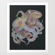 Tangled No. 4 Art Print