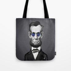 Abraham Lincoln (Steampunk) Tote Bag
