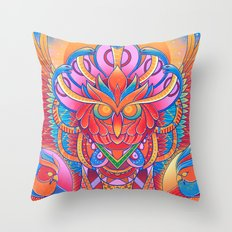 Angel of Death Throw Pillow