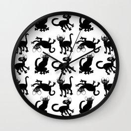 4cats Wall Clock