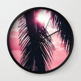 Blissful Independence Wall Clock