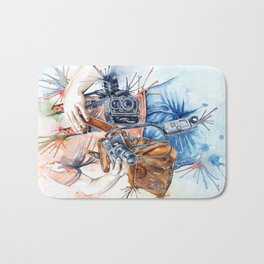 The Photographer Bath Mat