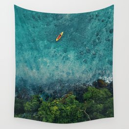 Kayaking in The Philippines  Wall Tapestry