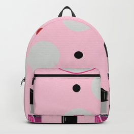 Polka Dots and Lipsticks Backpack