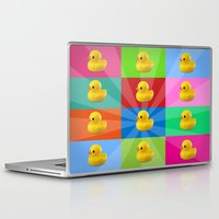 duck Laptop & iPad Skins featuring duck by mark ashkenazi