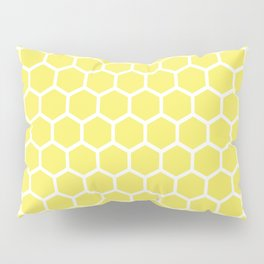 Summery Happy Yellow Honeycomb Pattern - MIX & MATCH Pillow Sham