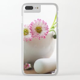 Wild herb still life for kitchen or practice Clear iPhone Case