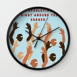 Rev Rev Rev Wall Clock
