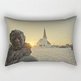 Sunrise in Nome, Alaska Rectangular Pillow
