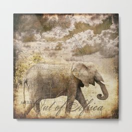 Out of Africa Metal Print