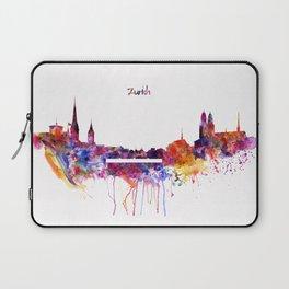 Zurich Skyline Laptop Sleeve