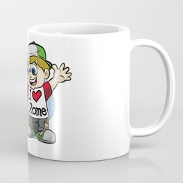 I LOVE ROME Italy Italian Tourist Vacation Present Coffee Mug