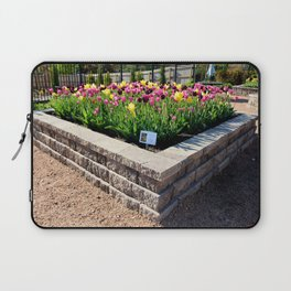 "Muscogee (Creek) Nation - Honor Heights Park Azalea Festival, Tulip ""Critical Mass"" Laptop Sleeve"
