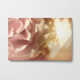 Love & Roses Metal Print