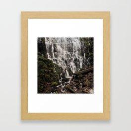 Ramona Falls Framed Art Print
