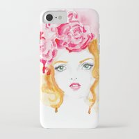 doll iPhone & iPod Cases featuring Doll by S'ANNie