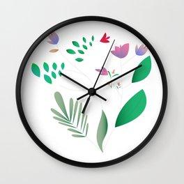 Light Summer Wall Clock