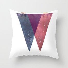 DoubleDualityPop Throw Pillow