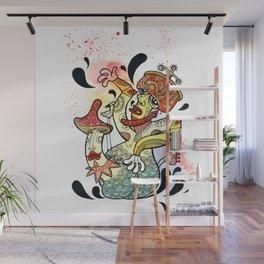 Mushroom Kamasutra Wall Mural