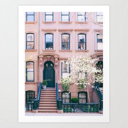 Spring in Greenwich Village - New York Photography Art Print