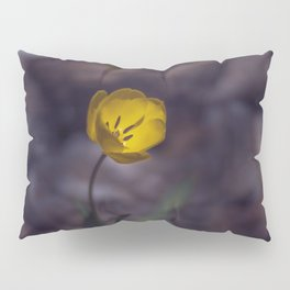 Yellow Tulip in The Forest Pillow Sham