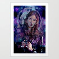 amy pond Art Prints featuring Amy Pond by Sirenphotos
