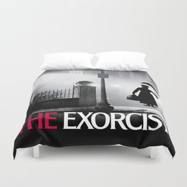 Mary Poppins in the Exorcist Duvet Cover