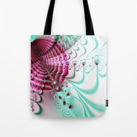 cake Tote Bags featuring cake by Maureen Popdan