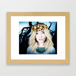 Aurora Isa Framed Art Print
