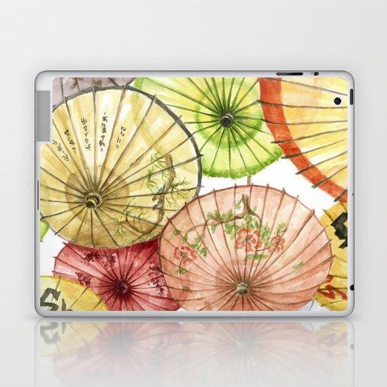 Paper Umbrellas Laptop & iPad Skin
