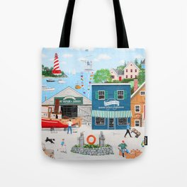 Where the Buoys Are Tote Bag