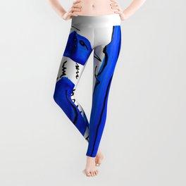 Blue Bird Leggings