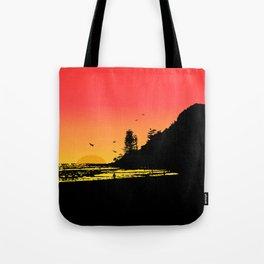 Burleigh beach Tote Bag