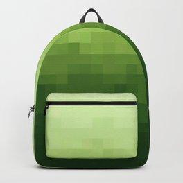 Gradient Pixel Green Backpack