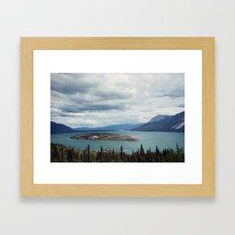 Bove Island Tagish Lake Framed Art Print