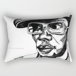 Mighty Mos Def Rectangular Pillow