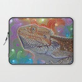 Cosmic Dragon, Bearded Dragon Art Laptop Sleeve