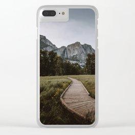 YOSEMITE PATH Clear iPhone Case