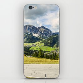 on the roads of dolomites iPhone Skin