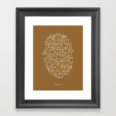 49/52: Isaiah 9:6 Framed Art Print