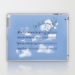Musical Notes Laptop & iPad Skin