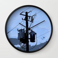 transformer Wall Clocks featuring Transformer by AMarloweCanPrint