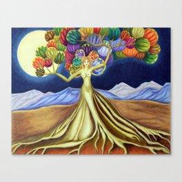 Grace in Full Bloom Canvas Print