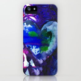 Eternal Heart No. 13M by Kathy Morton Stanion iPhone Case
