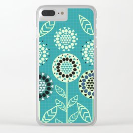 Floral romance Clear iPhone Case