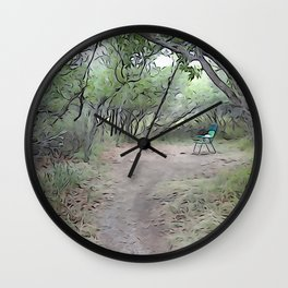 Quiet Place Wall Clock