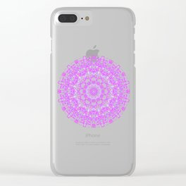 Mandala 12 / 1 eden spirit pink Clear iPhone Case