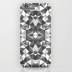 Abstract Colide Black and White Slim Case iPhone 6s