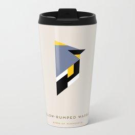 Yellow-Dumped Warbler Metal Travel Mug
